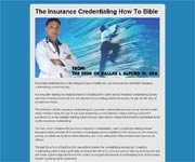 Insurance Credentialing Bible